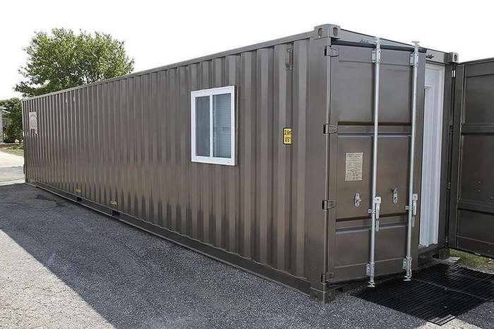 Дом-контейнер можно заказать через интернет за $40 000