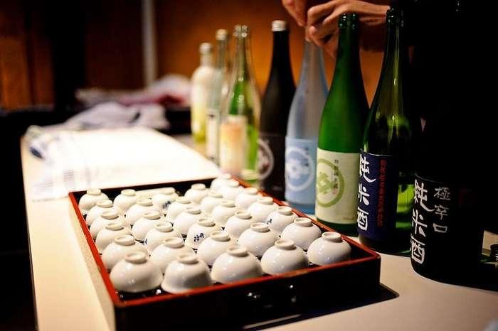 Как делают саке