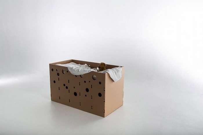 Студенты создали мебель из гофрокартона для беженцев и жертв стихийных бедствий