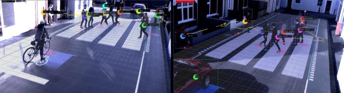 Дорога будущего: Интерактивная LED-разметка поможет водителям и защитит пешеходов