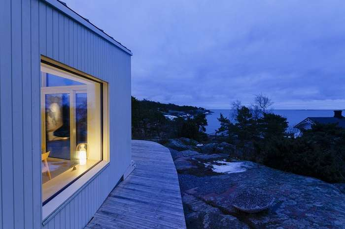 Частный дом на юге Финляндии