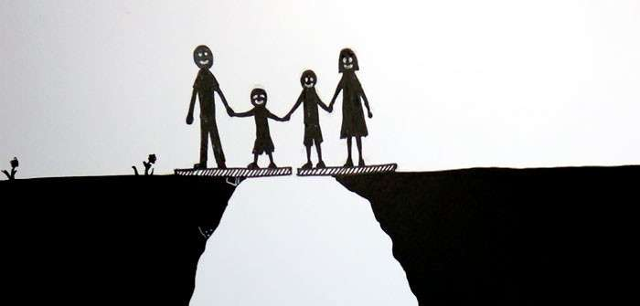 Этот печальный комикс показывает, что развод делает с семьей