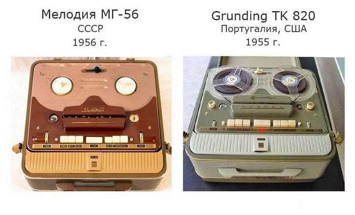 Скомуниздили: советские товары, подозрительно похожие на заграничные аналоги
