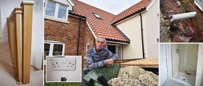 Дедушка купил новый дом мечты за &163;520 000 и ужаснулся от множества недоделок