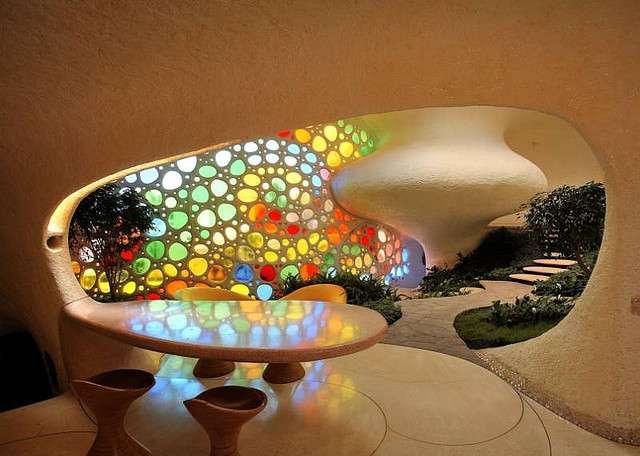 Торжество биодизайна: дом в виде раковины моллюска