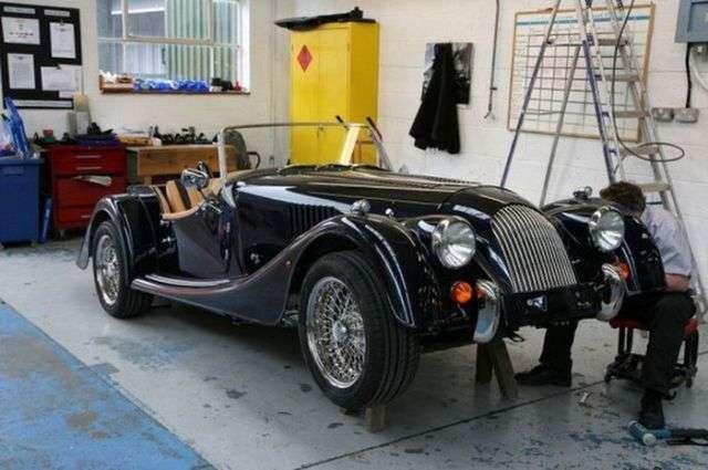 Как выпускают автомобили марки Morgan