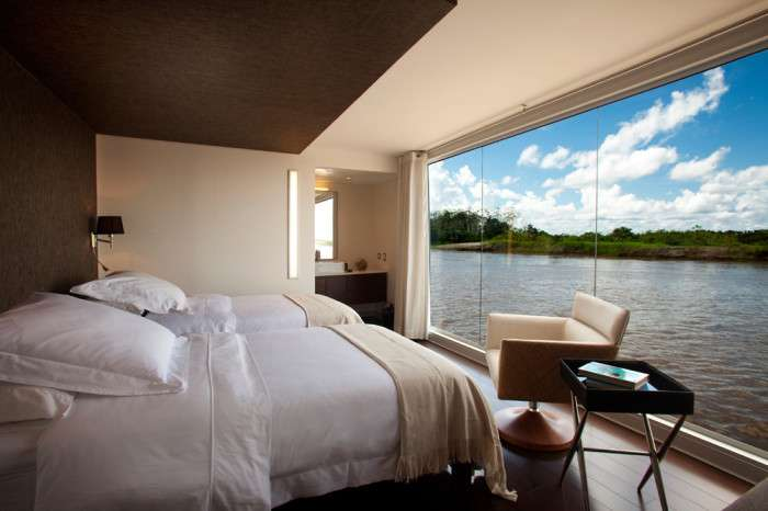 Изысканная роскошь плавучего отеля