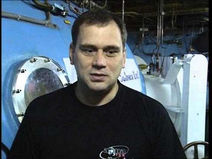 Водолаз рассказал о погружениях к подводной лодке -Курск-