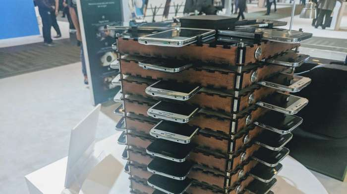 Деньги из старых мобилок: Samsung соорудила майнинг-ферму из Galaxy S5