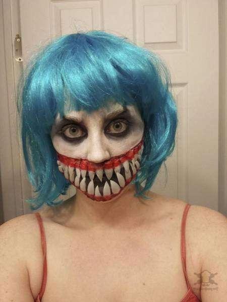 По-настоящему пугающие костюмы на Хэллоуин