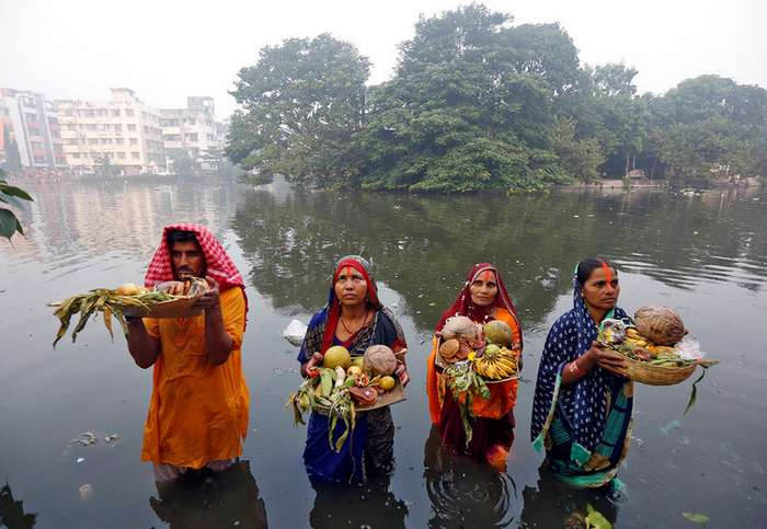 Интересные фото, сделанные в Индии на прошлой неделе