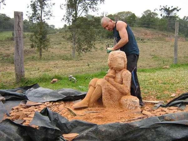Невероятное творение из камня.