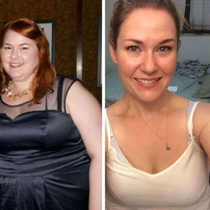Невероятные преображения людей, страдавших от лишнего веса