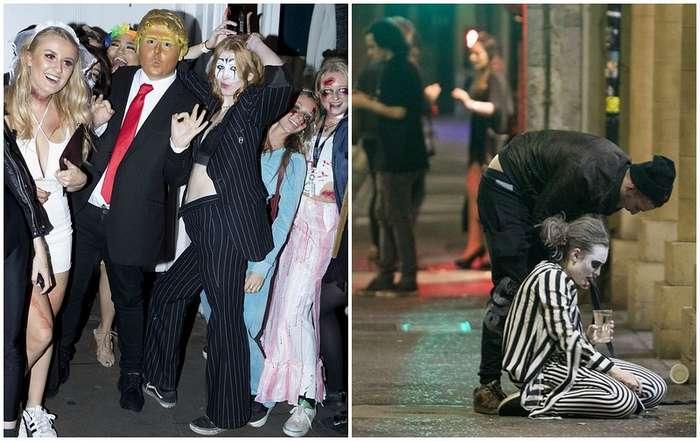 Веселье до упаду: как прошел Хэллоуин-2017 в Великобритании