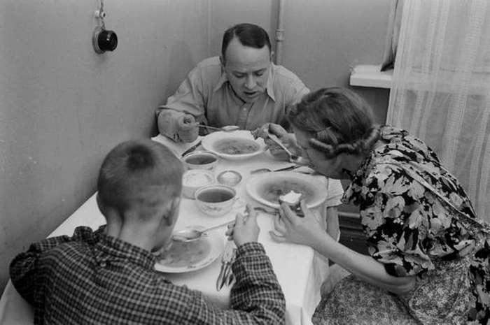 В гостях у советской семьи: репортаж американского фотокорреспондента