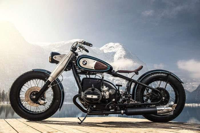 Как из старого мотоцикла 1950-х годов сделать быстрый и стильный