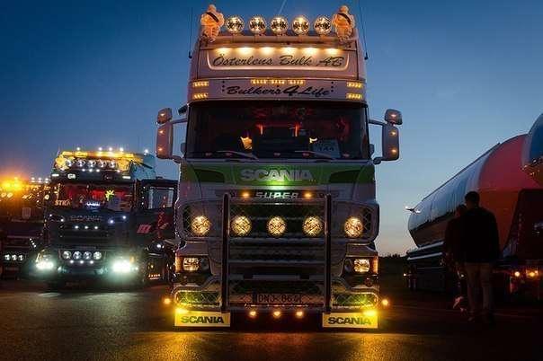Фестиваль впечатляющих грузовиков &128515;