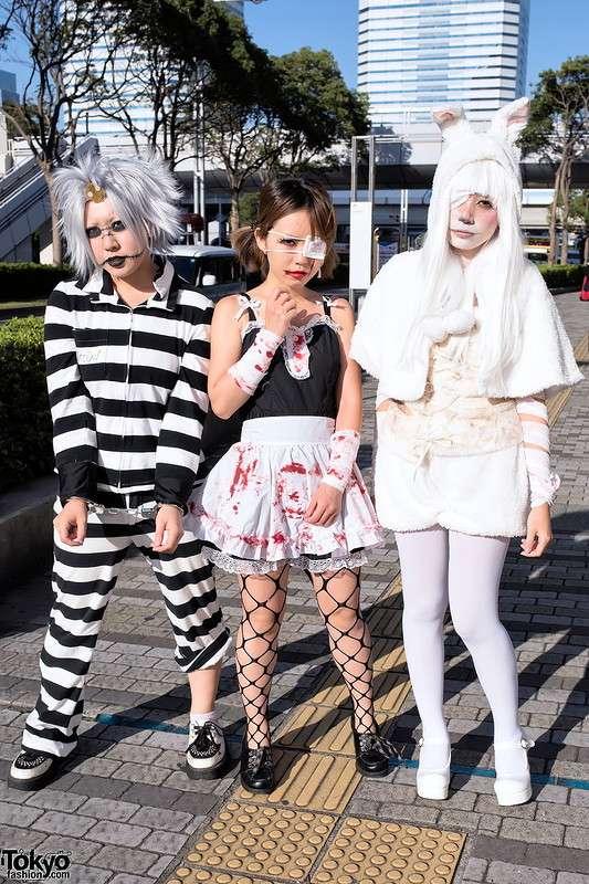 Модные персонажи на улицах Токио (02.11.17)