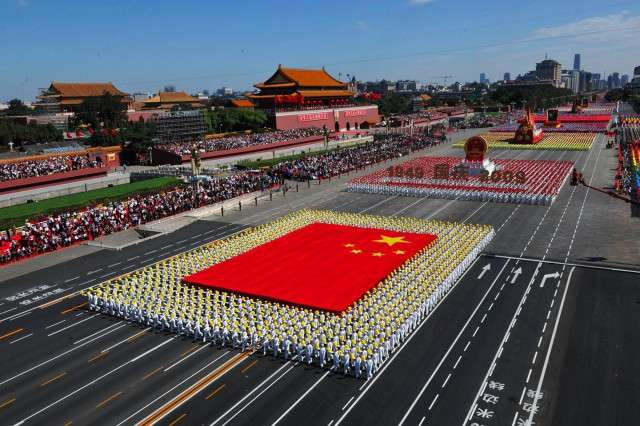 Китайское -искусство толпы-