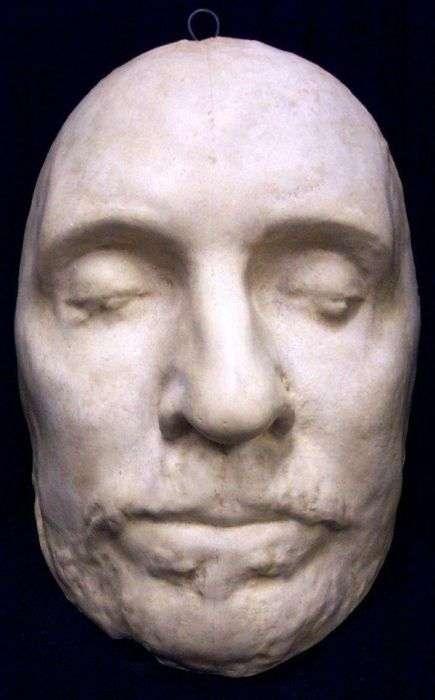Посмертные маски великих людей