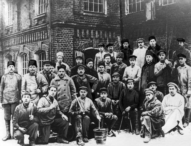 Революционная Москва в октябре - ноябре 1917 года