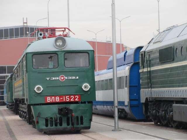 Железнодорожный музей в Петербурге