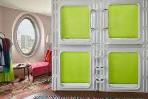 Новая достопримечательность Москвы - капсульный отель Molotoff