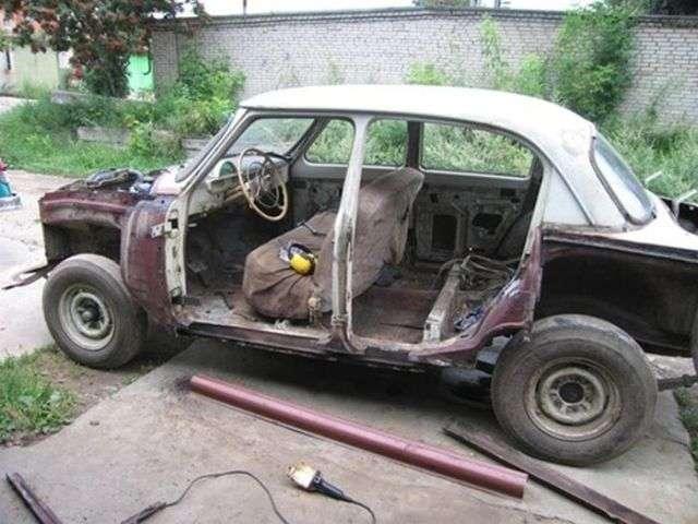 Восстановление легендарной -Волги- ГАЗ-21