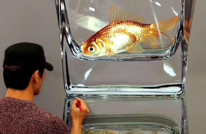 Как нарисовать фотографию: невероятные гиперреалистические картины от южнокорейского художника