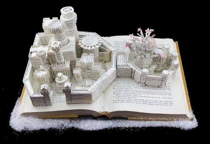 Графический дизайнер мастерит Вестерос из книг -Игры престолов-