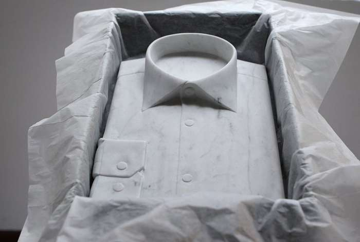 Реалистично выглядящие скульптуры Аласдера Томсона, созданные из мрамора