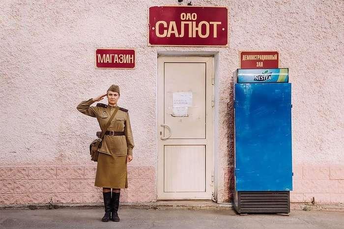Прошлое в настоящем: 14 персонажей русской истории в проекте самарского фотографа