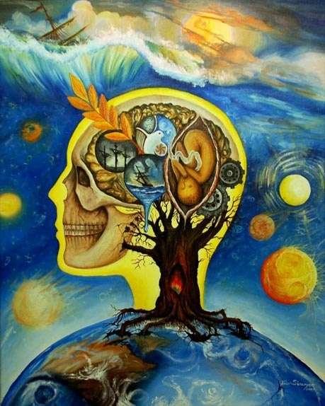 Человеческий мозг не является генератором мыслей, а лишь их приемником и передатчиком