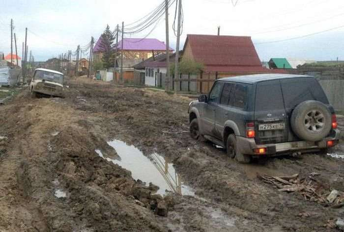 Снимки, которые можно было сделать только в России