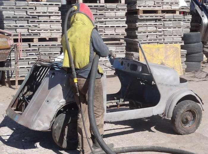Реставрация мотоколяски СМЗ С3А