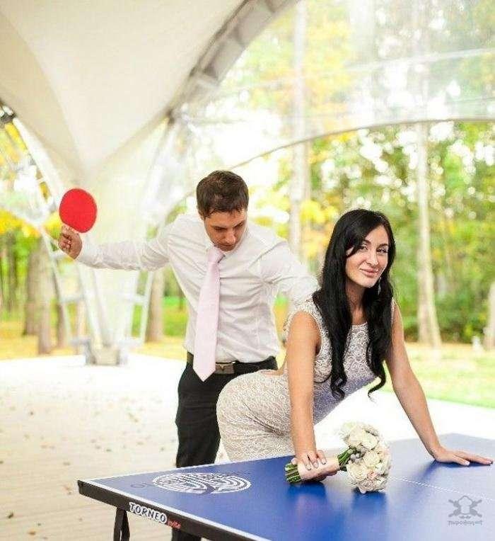 Странные свадебные фотографии