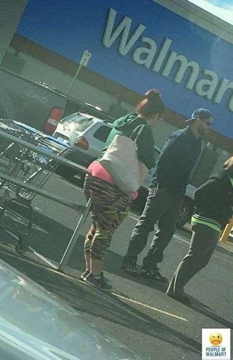 Забавные посетители супермаркетов Walmart