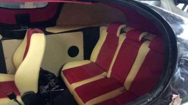 Преображение салона катера на воздушной подушке