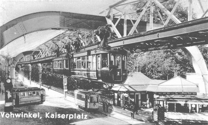 Трамвай наоборот: Вуппертальская подвесная дорога