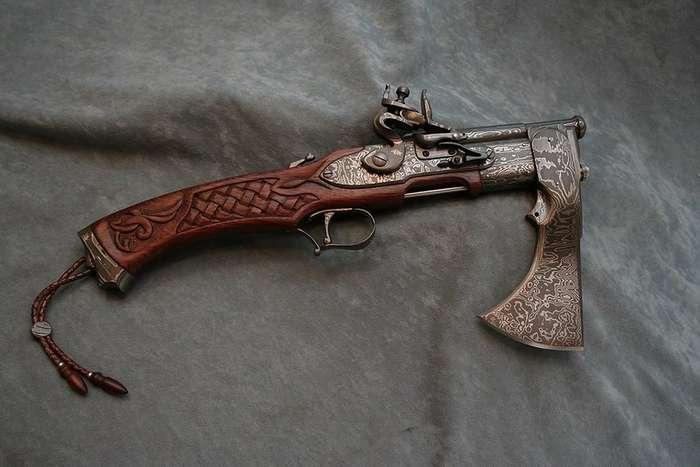 Комбинированное оружие разных стран 16-18 веков