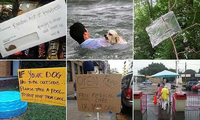 Эти фотографии внушат вам веру в человечество!