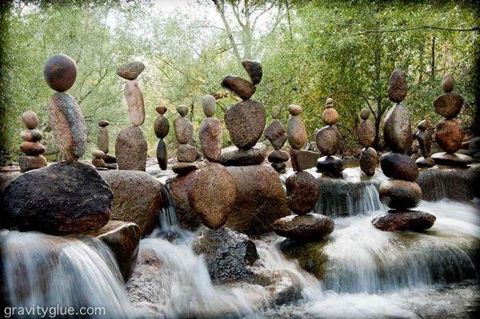 Балансирующие камни от Майкла Граба