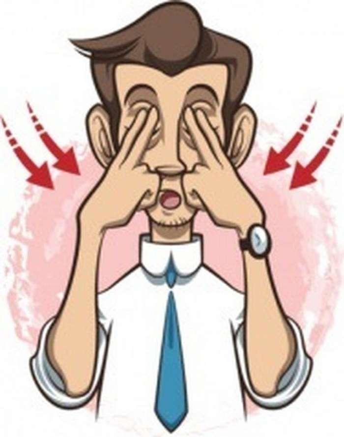 10 простых упражнений для снятия усталости с глаз. Полезно всем, кто много времени проводит у компьютера!