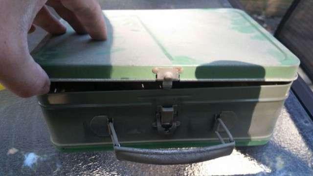 Приятный сюрприз в старом чемодане