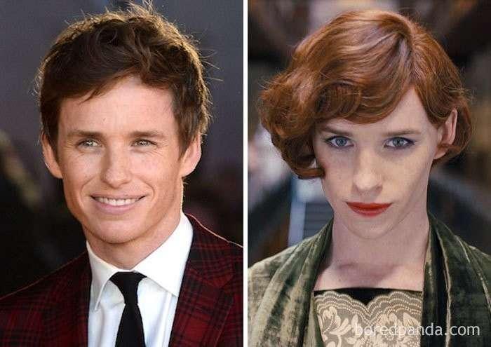 45 невероятных преображений актеров с помощью грима