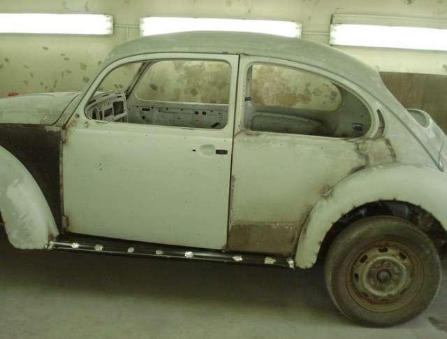 Volkswagen Beetle восставший из руин