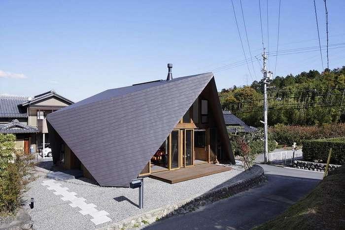 Небольшой загородный дом в японской деревне