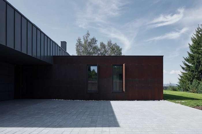 Дом-сарай для загородного отдыха в Чехии