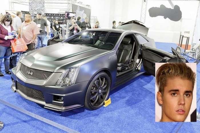 Знаменитости и их машины