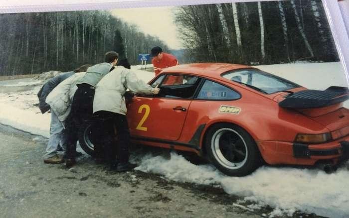 Эксклюзивные автомобили в России на старых фото